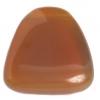 Glass Bead 23x24mm Drop Brown Opal - Strung